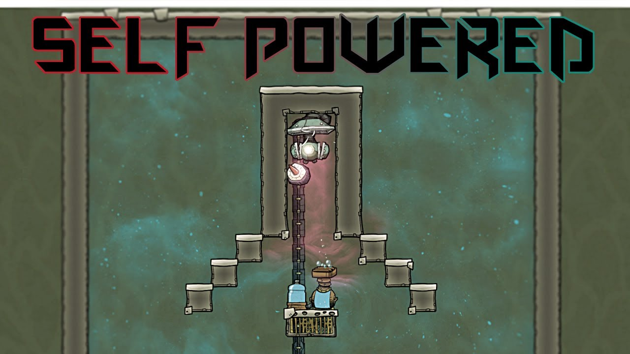 Self Powered Oxygen Production Oxygen Not Included