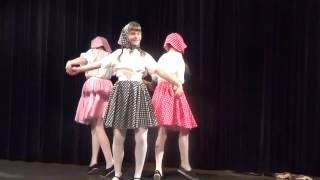 "Танец ""Заплетала реку в косы"" Ecole russe à Versailles ANTOCHKA"