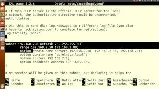 DHCP Server + Webmin auf Raspberry / Linux / Ubuntu installieren