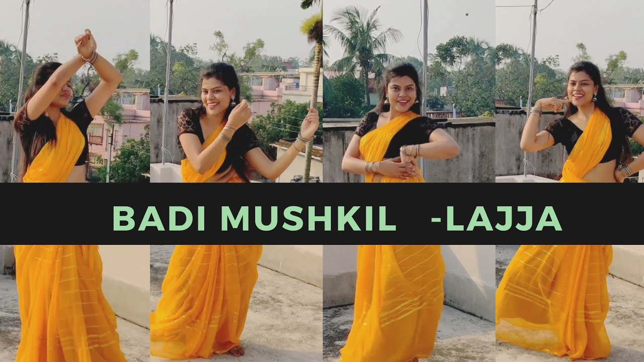 Badi Mushkil | Lajja | Madhuri Dixit | Dance Cover by Sanchary Ray
