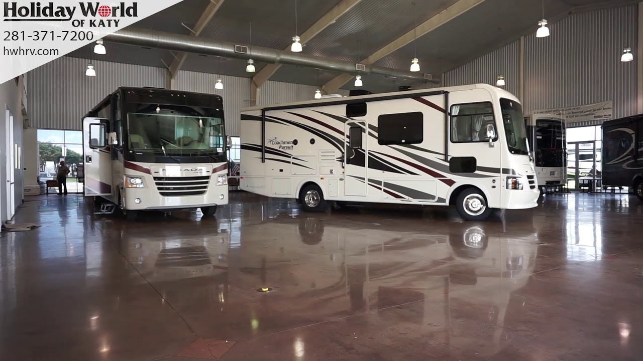 Check out our showrooms! Holiday World RV 281 371 7200