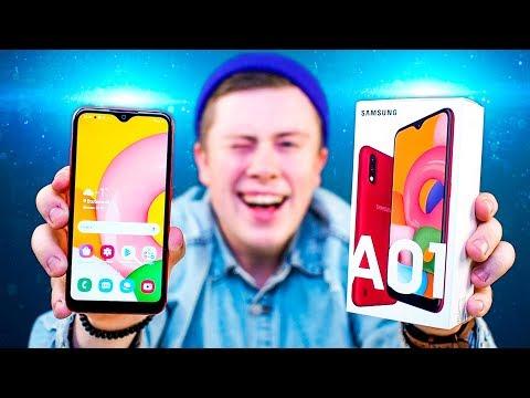 Купил Samsung Galaxy A01 за 7 990 РУБЛЕЙ! - ЛУЧШИЙ БЮДЖЕТНЫЙ СМАРТФОН 2020