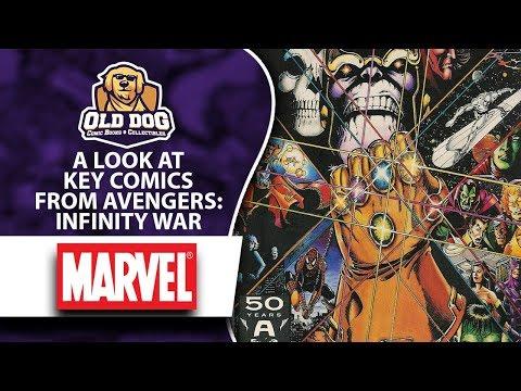 Avengers Infinity Wars Key Comics    Marvel Comic Books