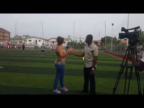 Astros football academy interveiw Ghana