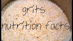 Grits nutrition facts