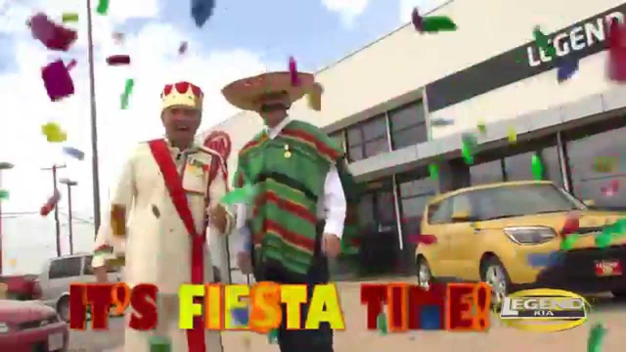 Legend Kia Fiesta Time Youtube