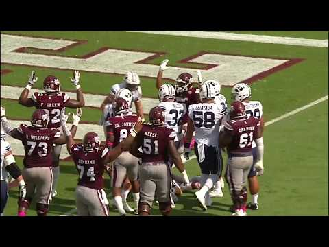 Mississippi State vs BYU NCAA Football Highlights 2017