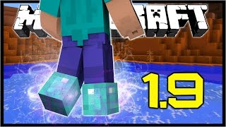 Minecraft 1.9 | NEW ENCHANTMENTS! | Frost Walker, Mending | Snapshot 15w42a
