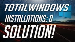 """Total identified Windows installations: 0"" Error Fix - Windows 10/8/7"
