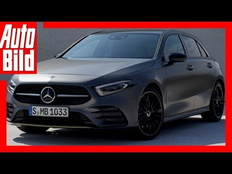 Mercedes A Klasse 2018 Weltpremiere Details Erklarung Youtube
