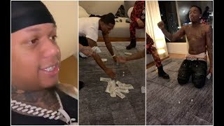 Adrien Broner $250K Dice Game With Yella Beezy Trap Boy Freddy and J Prince Jr