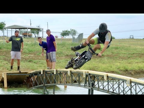 Dude Perfect Dirt Bike Battle | A.X.L. In Theaters August 24th 2