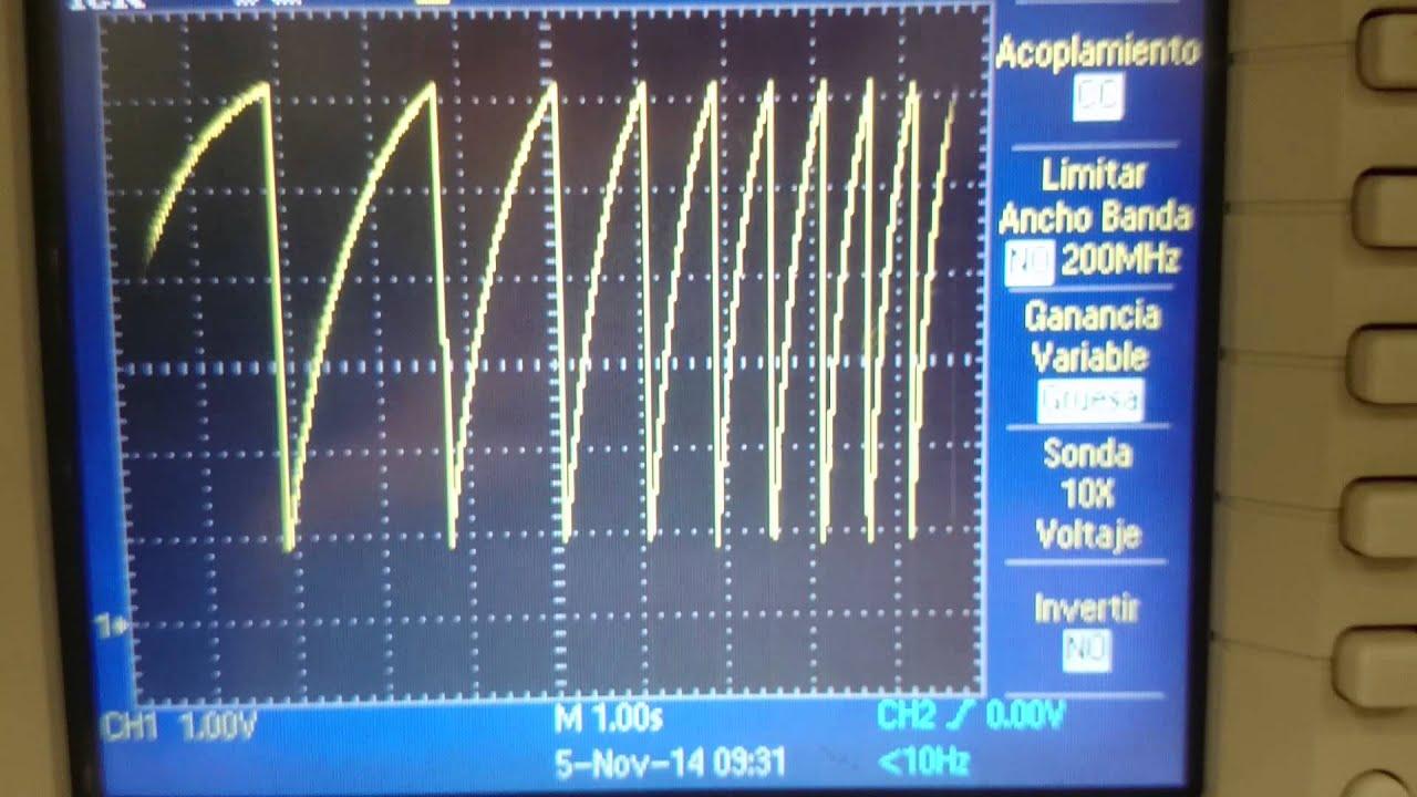 Ramp Generator Youtube Sawtooth Wave Circuit Using Ujt