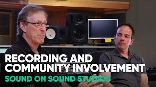 Recording and Community Involvement – Sound on Sound Studios – Softube