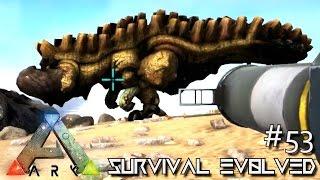 ARK: SURVIVAL EVOLVED - NEW MONSTER URAGAAN & MEGAPITHECUS TAME !!! E53 (MODDED ARK EXTINCTION CORE)