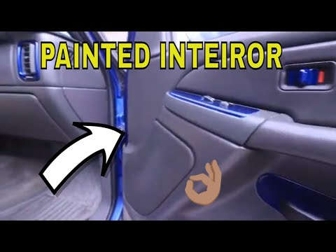 Painted Some Interior Parts On My Truck