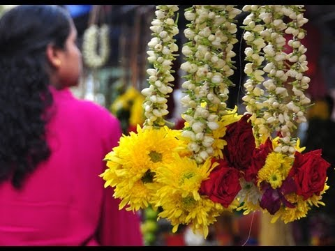 Indian Flower Garlands Youtube