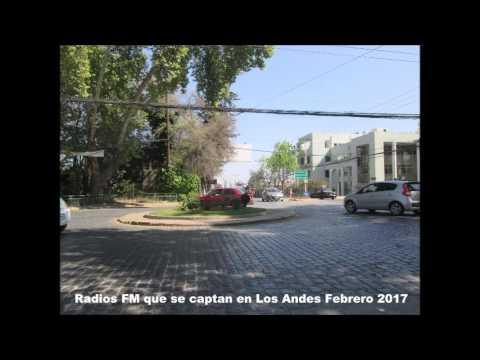 Radios FM que se captan en Los Andes Febrero 2017