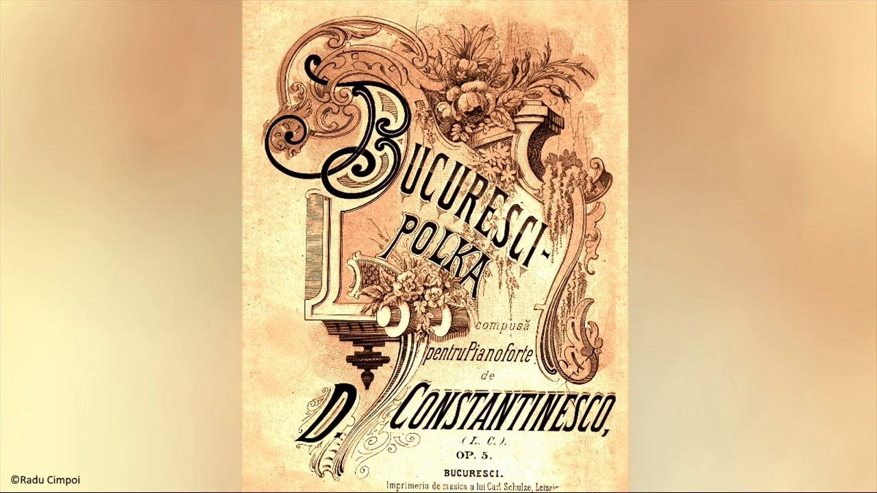 Bucuresci Polka - D. Constantinescu (Instr. Radu Cimpoi)