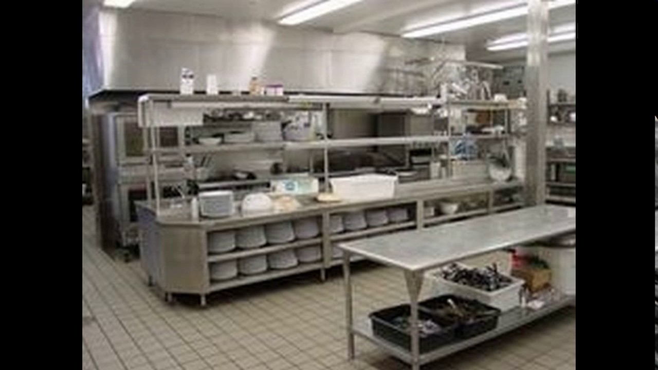 Commercial kitchen design layout youtube for Professional kitchen design