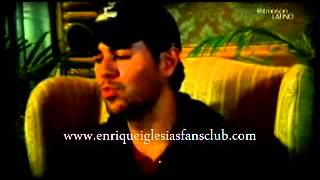 ENRIQUE IGLESIAS INTERVIEW FROM MEXICO ENTREVISTA