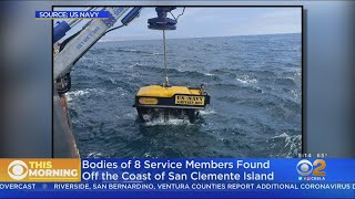 Sunken AAV Found Off San Clemente Island With Remains Of Missing Marines
