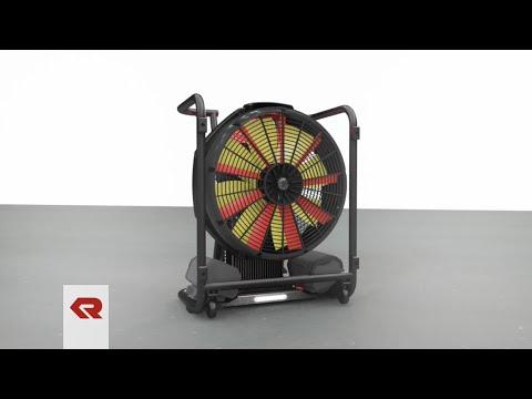 FANERGY B16 - Akkubetriebener Hochleistungslüfter von Rosenbauer