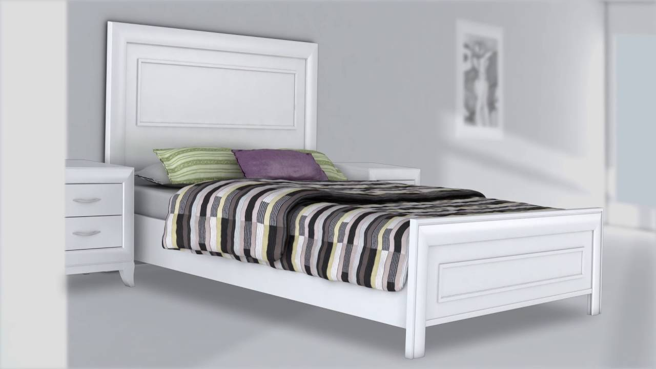parma 2 cabeceros y muebles auxiliares youtube. Black Bedroom Furniture Sets. Home Design Ideas