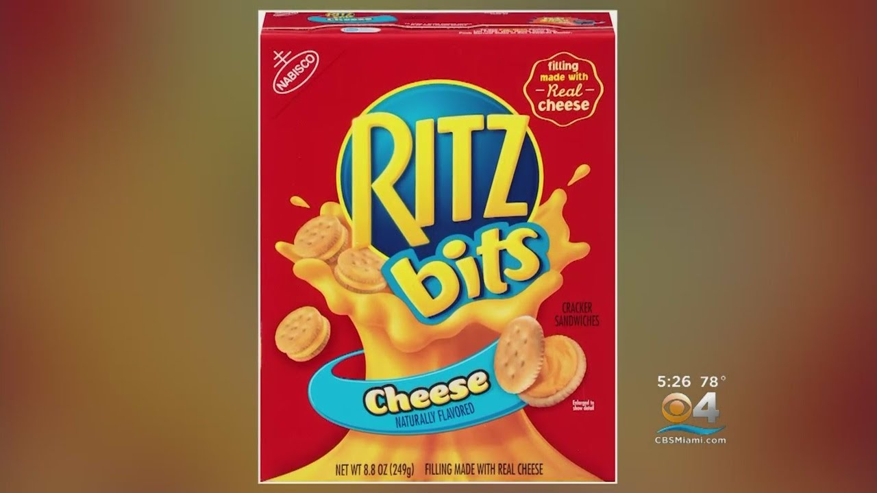 recall on ritz bits crackers