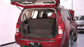 2012 nissan pathfinder spare tire and tools