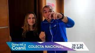 Invitación a colaborar Alejandro Chávez y Evelyn Bravo- Colecta Coanil 2017