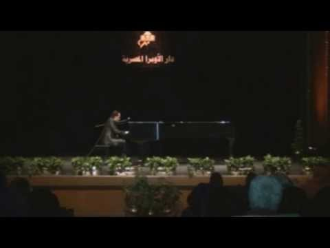 Tarek Refaat, The Complete Piano Concert in Cairo Opera House, December 2014.