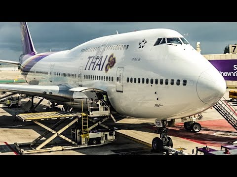 TRIP REPORT | Thai Airways | Boeing 747-400 | Phuket - Bangkok | Economy Class