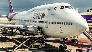 TRIP REPORT | Thai Airways | Boeing 747-400 | Phuket - Bangkok | Economy Class