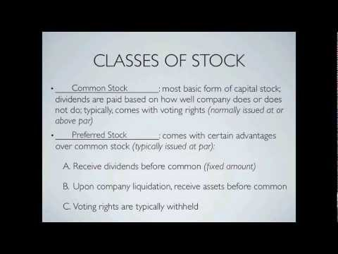Difference Between Common and Preferred Stock