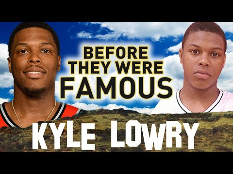 KYLE LOWRY - Before They Were Famous - Toronto Raptors