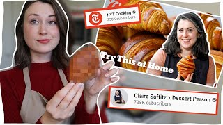 I tried to make that PERFECT CROISSANT recipe by CLAIRE SAFFITZ &amp NYT Cooking ...