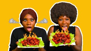 Hot Spicy Chicken Wings Challenge with Agatha Ezepue (Part 1)