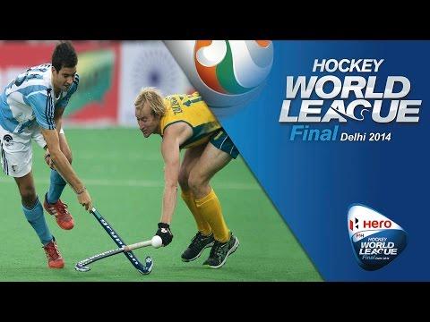 Australia vs Argentina - Men's Hero Hockey World League Final India Pool B [13/1/2014]