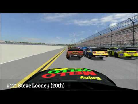 Insomniacs SuperSpeedway Challenge Lap 68 Big One (Multi-View)