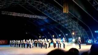 Air Force One Theme by Malta Police Band at Military Tattoo 2011