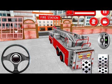 Firefighter Cartoon For Kids - Fire Trucks For Children - Bambi Tv - Android Gameplay