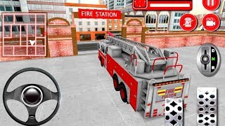 Firefighter Cartoon for Kids  Fire Trucks for Children  Bambi Tv  roid Gameplay