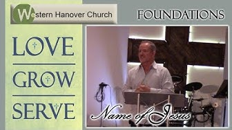 Foundations Name of Jesus 10/28/2018