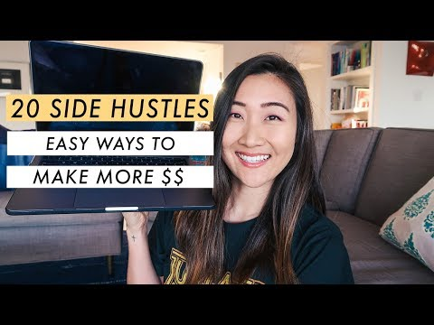 20 Best Side Hustles for 2020 (make more money)💰