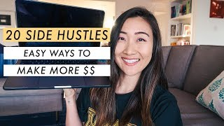 20 Best Side Hustles for 2020 (make more money)💰