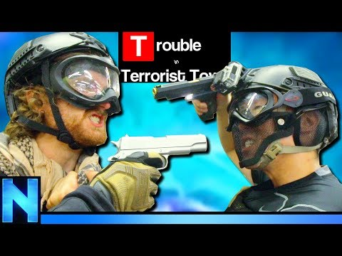 WHY I TRUST NO ONE - Airsoft Trouble in Terrorist Town