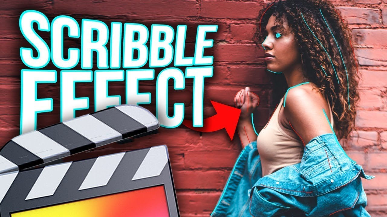 How To Make A Scribble Effect - Final Cut Pro X - YouTube