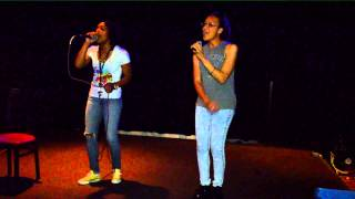 Alicia Keys 'No One' (Cover) Charmaine & Kei Mo- Karaoke Nights at Bunkers