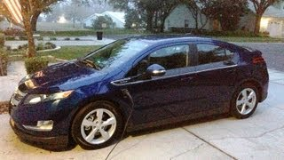 My first day with my 2013 Chevy Volt getting 115 MPG
